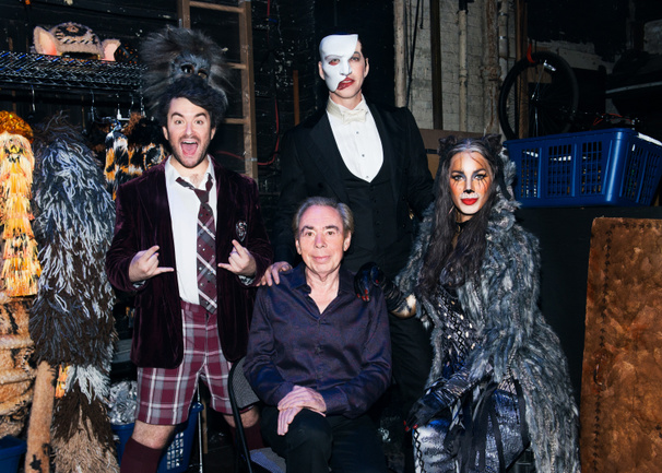 Triple Threat! Andrew Lloyd Webber Celebrates Three Shows Running on the Great White Way