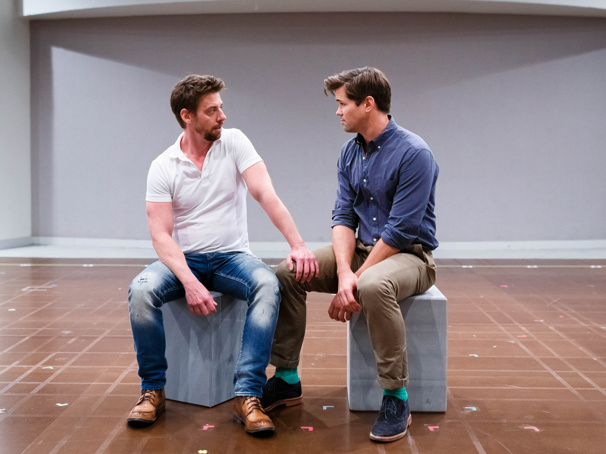Welcome to Falsettoland! Enter the Rehearsal Room with the Cast of Falsettos