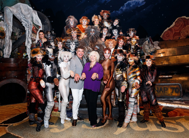 Journey Back to the Heaviside Layer! Betty Buckley & Bryan Batt Visit Broadway's Cats