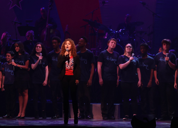 """Theater diva Bernadette Peters makes dreams come true and sings """"Children Will Listen"""" from Into the Woods.(Photo: Justin Sullivan/Getty Images)"""