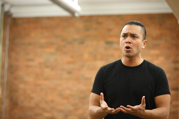 "The King and I's leading man Jose Llana performs ""A Puzzlement."""