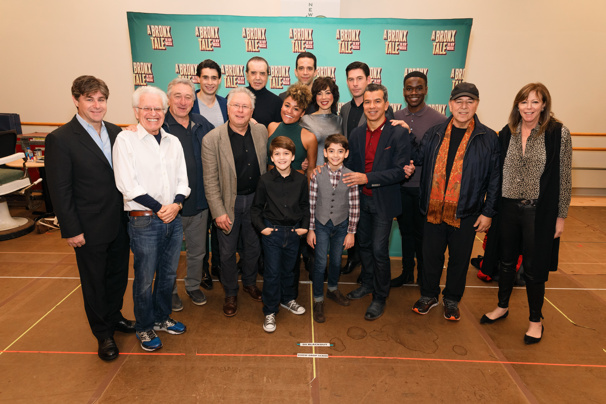No Wasted Talent Here! Hit the Rehearsal Room with the Cast of A Bronx Tale