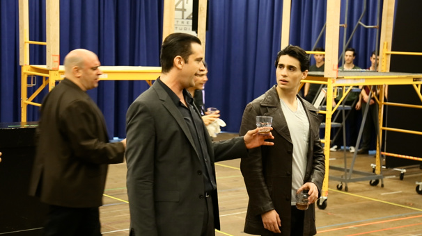 Get a VIP Look at Rehearsals for the New Musical A Bronx Tale