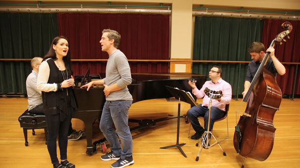 We Can Fly! Finding Neverland's Kevin Kern & Christine Dwyer Sing 'What You Mean to Me' in Rehearsal