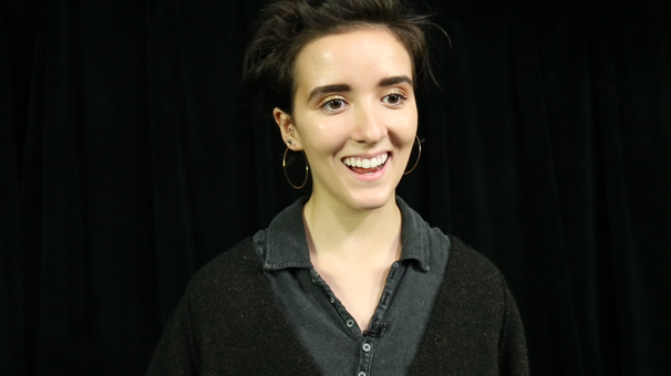Radiating Happiness! Fun Home's Abby Corrigan Sings 'Changing My Major' in Rehearsal
