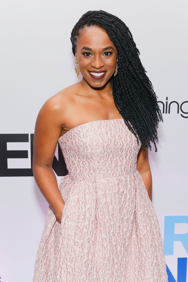 Kristolyn Lloyd stuns on the evening of her Broadway opening. Dear Evan Hansen marks her Great White Way debut.
