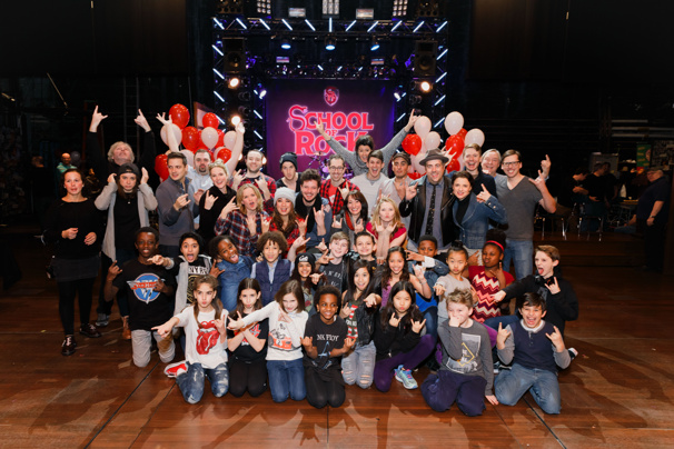 School of Rock Celebrates One Year on the Great White Way