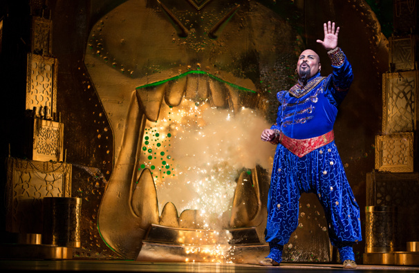 Can Your Friends Do This? Watch James Monroe Iglehart & the Cast of Aladdin Bring Down the House