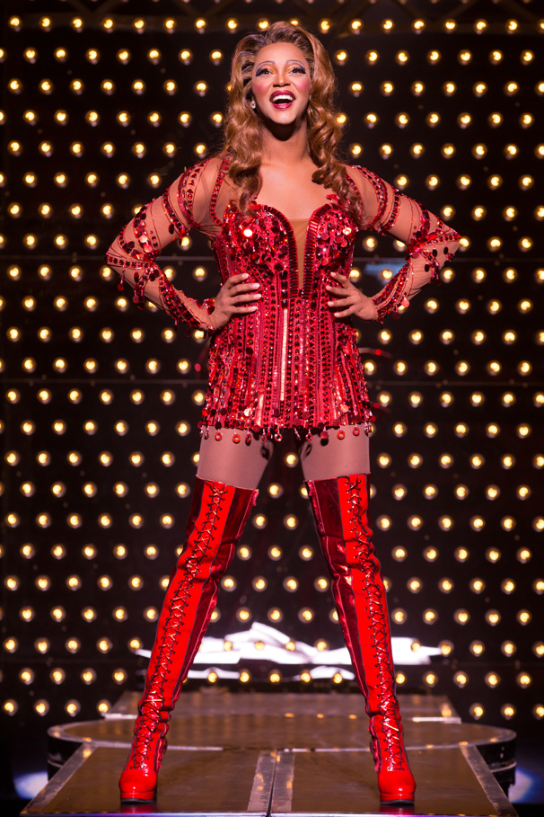 J. Harrison Ghee Sashays Back into Kinky Boots on Broadway