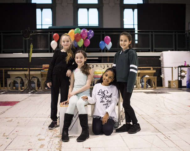 Lilian Hardy, Emma Moore & Éva-Marie Saffrey Join London's Matilda; Watch Them Learn Trapeze with Trunchbull