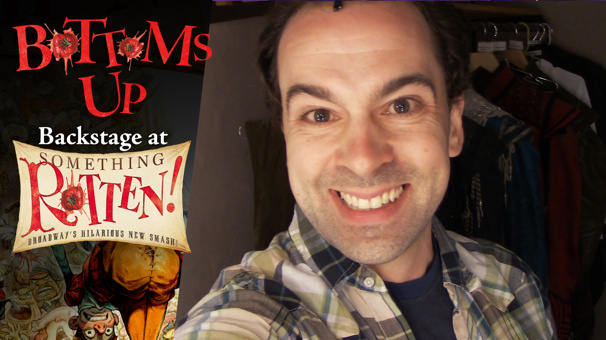Bottoms Up: Backstage at the Something Rotten! Tour with Rob McClure, Episode 6: We're in Disney World!