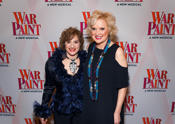 Talk about a power pair! War Paint's Patti LuPone and Christine Ebersole get together.
