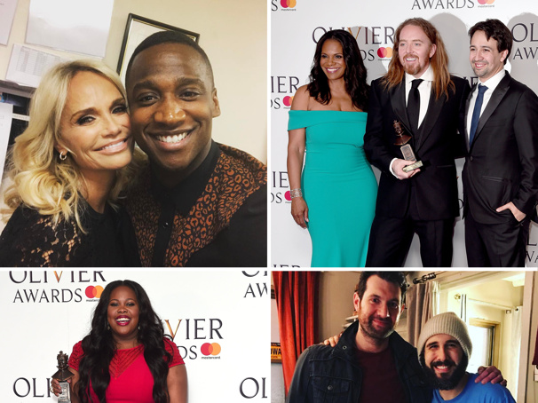 Audra McDonald, Lin-Manuel Miranda & More at the Olivier Awards, Kristin Chenoweth in the Pride Lands & Other Magical Hot Shots