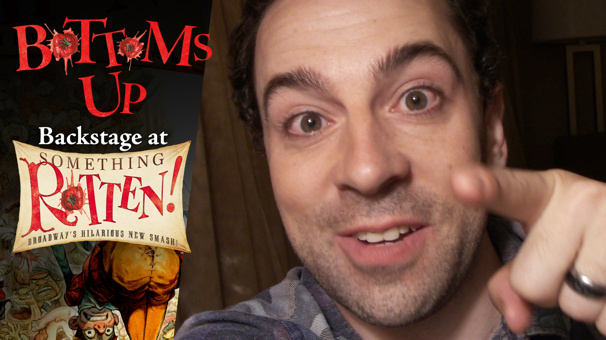 Bottoms Up: Backstage at the Something Rotten! Tour with Rob McClure, Episode 10: Furry Friends