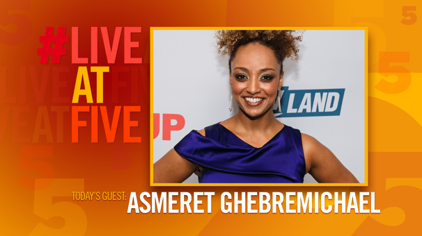 Broadway.com #LiveatFive with Asmeret Ghebremichael of Dreamgirls