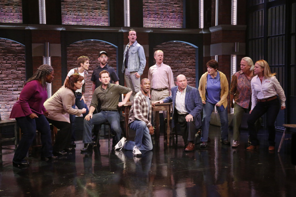 Watch Jenn Colella & the Cast of Come From Away Perform 'Welcome to the Rock'