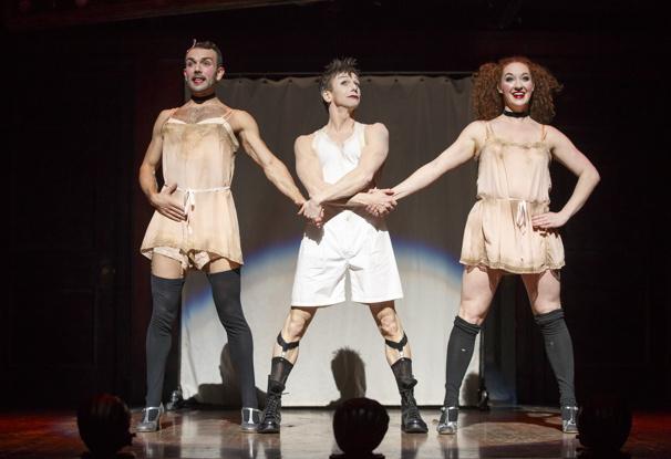 Touring cast of Cabaret