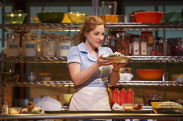 Original Broadway cast of Waitress