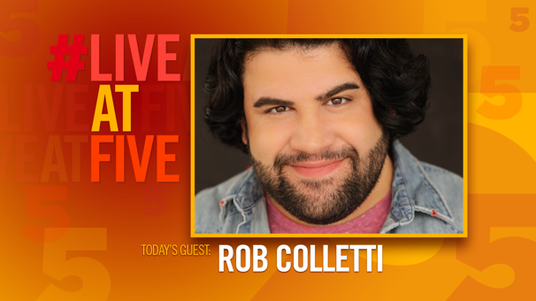 Broadway.com #LiveAtFive with Rob Colletti from School of Rock
