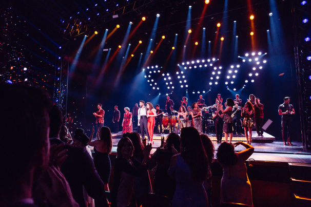 Happy opening to the company of On Your Feet!. Catch them when they come to a town near you.
