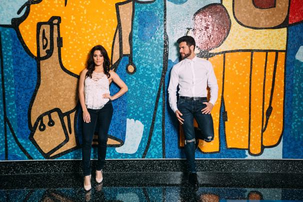 Christie Prades & Mauricio Martinez