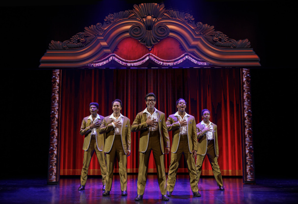 The touring company of Motown The Musical