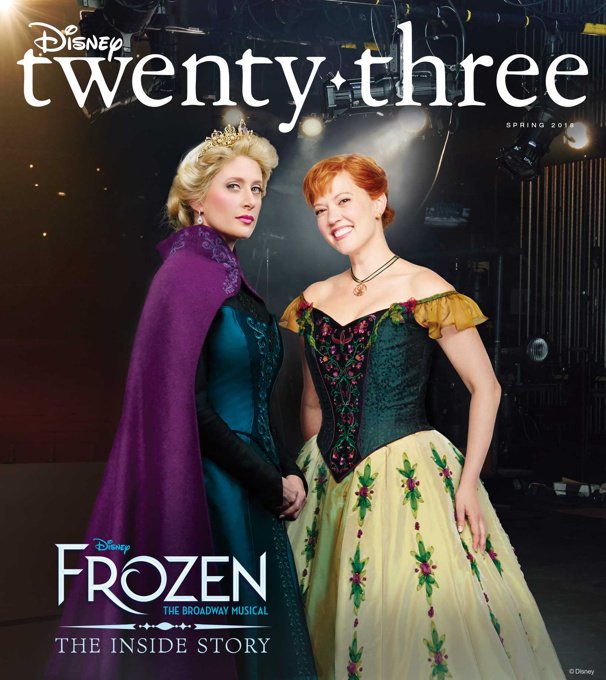Cover Girls! Here's an Exclusive Look at Frozen's Caissie Levy & Patti Murin