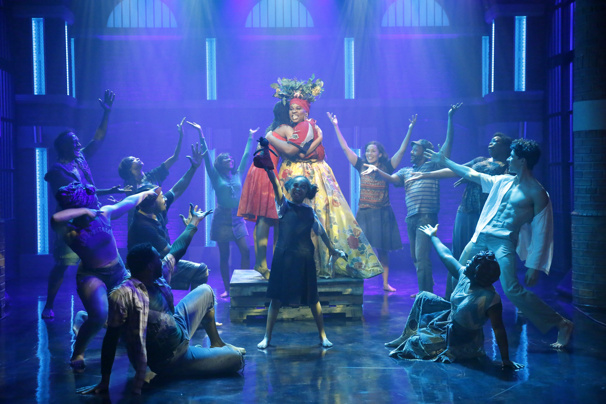 Watch Alex Newell & the Cast of Once On This Island's Super Fierce Performance of 'Mama Will Provide'