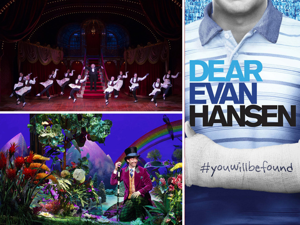 Boston's 2018-19 Season Will Include Broadway's Hello, Dolly!, Dear Evan Hansen, Roald Dahl's Charlie and the Chocolate Factory & More