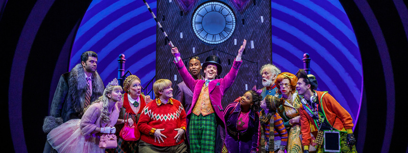 Image result for willy wonka broadway cast