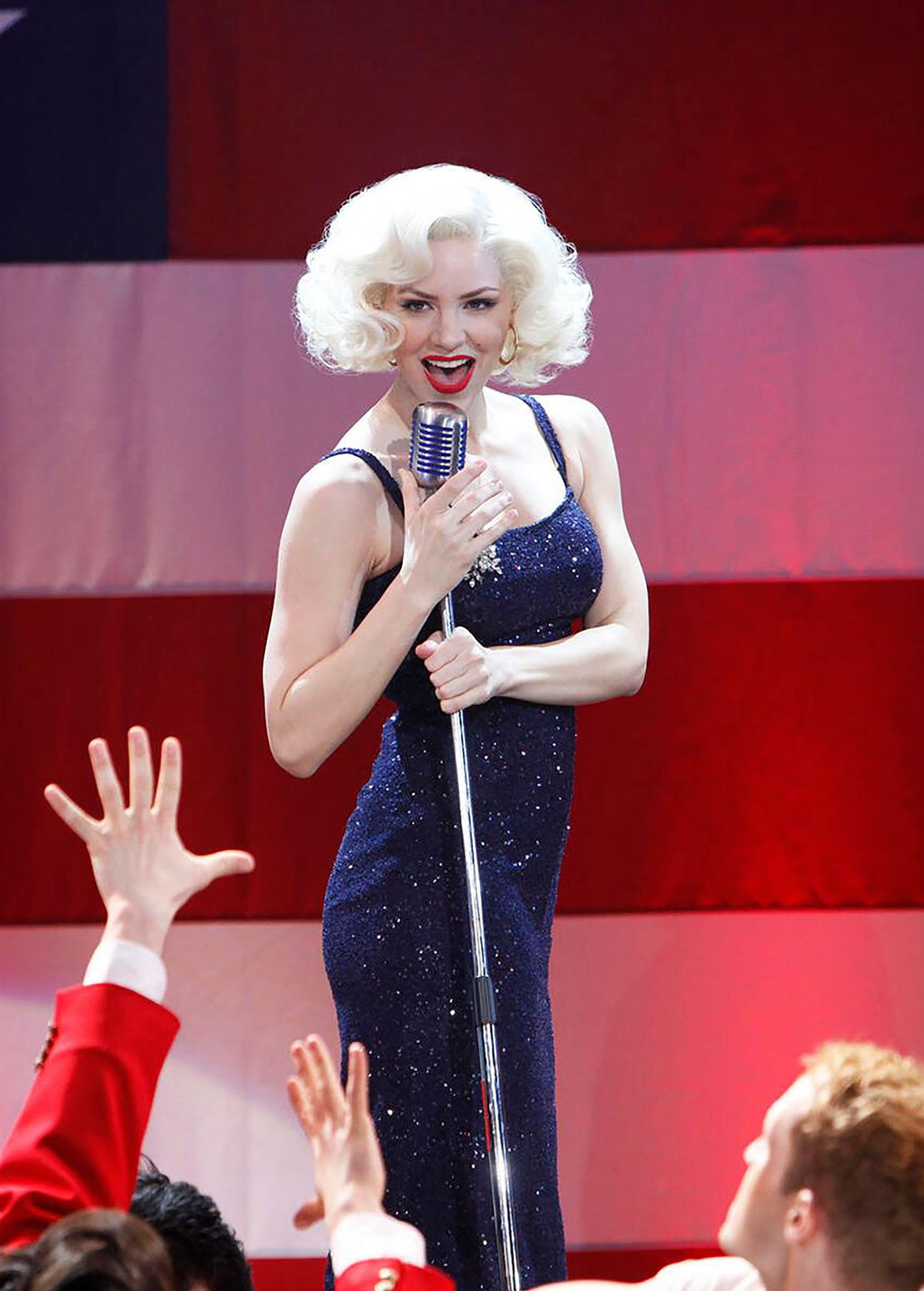 Katharine Mcphee Says She S Team Ivy Lynn Reacts To Smash Musical News Broadway Buzz Broadway Com