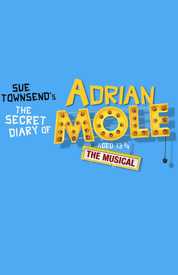 Poster for The Secret Diary of Adrian Mole Aged 13¾ - The Musical