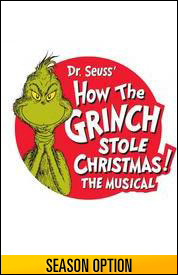 Poster for Dr. Seuss' How the Grinch Stole Christmas! The Musical