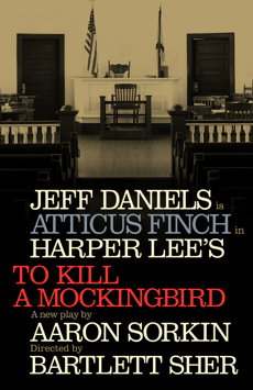 To Kill a Mockingbird, Shubert Theatre, NYC Show Poster