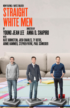 Straight White Men, The Helen Hayes Theater, NYC Show Poster