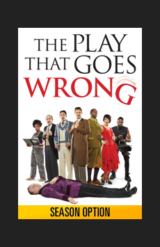 The Play That Goes Wrong,, NYC Show Poster