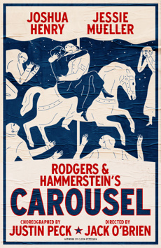 Carousel, Imperial Theatre, NYC Show Poster