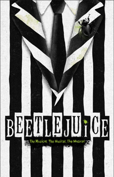 Beetlejuice, Winter Garden Theatre, NYC Show Poster