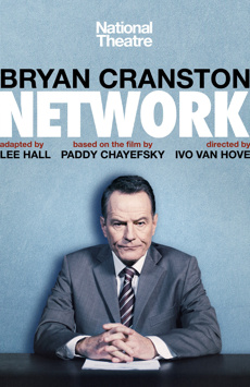 Network, Belasco Theatre, NYC Show Poster