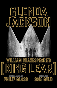King Lear, Cort Theatre, NYC Show Poster