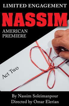 Nassim, New York City Center Stage II, NYC Show Poster