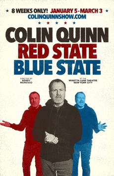 Red State Blue State, Minetta Lane Theatre, NYC Show Poster