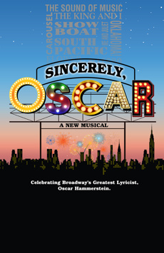 Sincerely, Oscar, Theatre Three at Theatre Row, NYC Show Poster