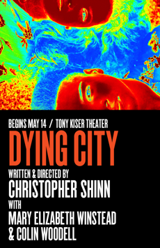 Dying City, Tony Kiser Theatre, NYC Show Poster