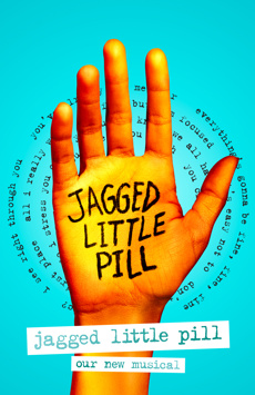 Jagged Little Pill, Broadhurst Theatre, NYC Show Poster