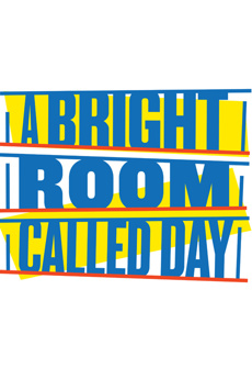 A Bright Room Called Day, Anspacher Theater at Joseph Papp Public Theater, NYC Show Poster