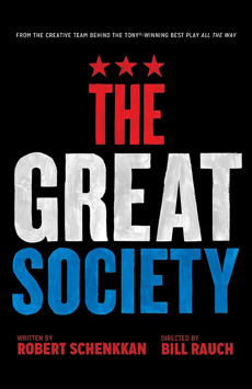 The Great Society, Vivian Beaumont Theater, NYC Show Poster