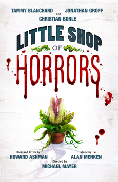 Little Shop of Horrors, Westside Theatre Upstairs, NYC Show Poster