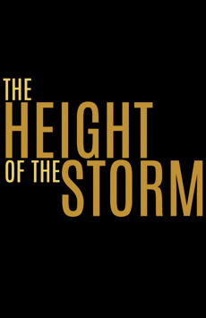 The Height of the Storm, Samuel J Friedman Theatre, NYC Show Poster
