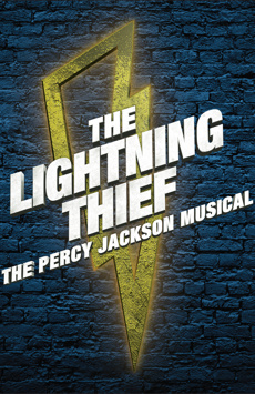 The Lightning Thief, Longacre Theatre, NYC Show Poster